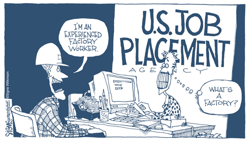 Signe Wilkinson Editorial Cartoon used with the permission of Signe Wilkinson, the Washington Post Writers Group and the Cartoonist Group. All rights reserved.